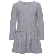 name it Girls Tunika Dart grey melange - grau -...